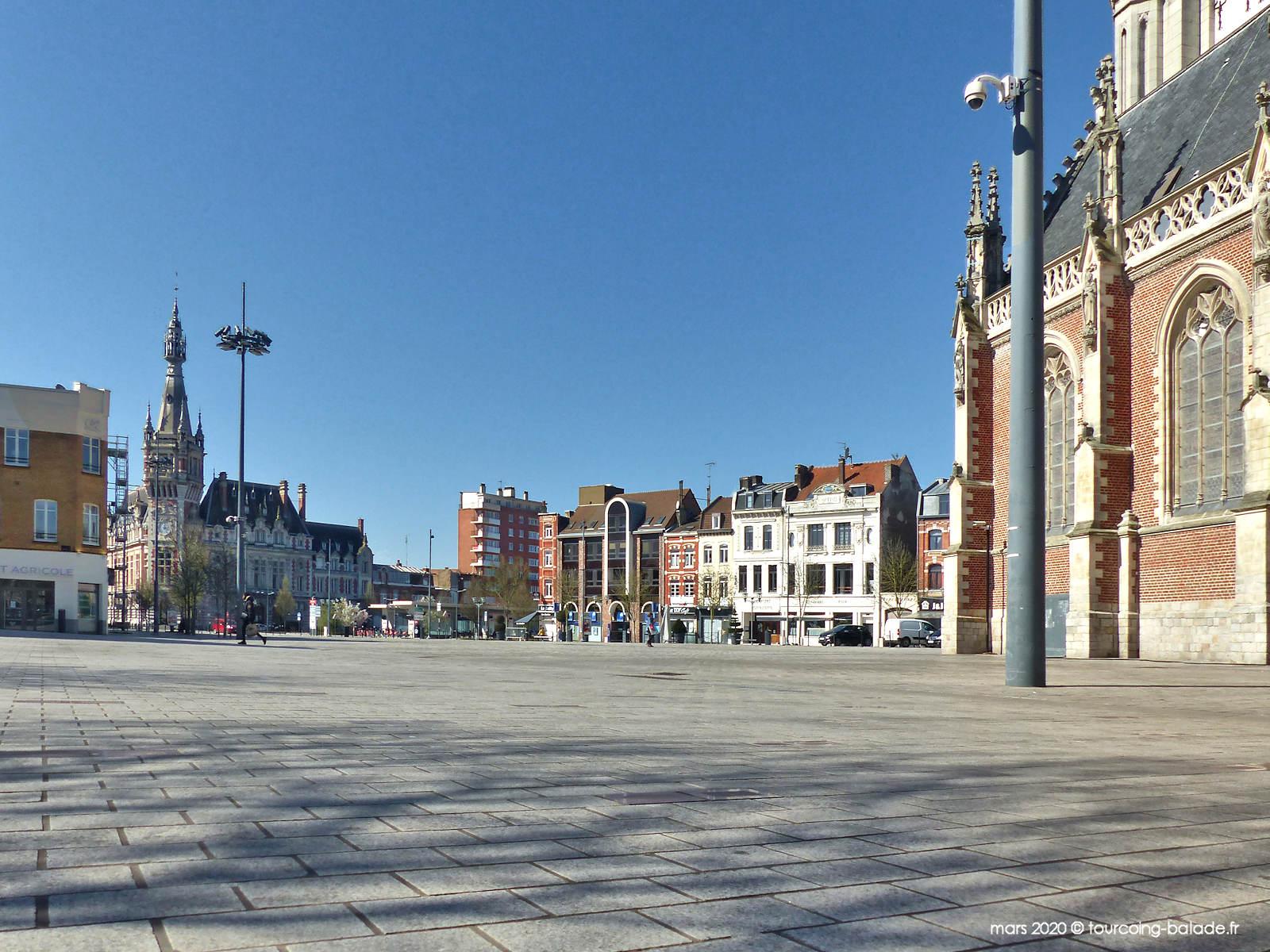 Place de la République, Tourcoing