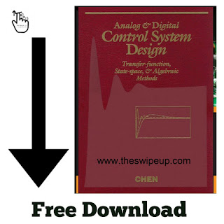 Free Download PDF Of Analog And Digital Control System Design: Transfer Function, State-Space, And Algebraic Methods