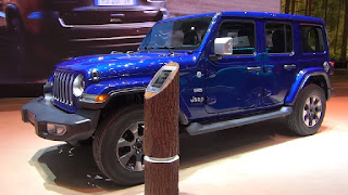 MAGAZIN CAR DESIGNS: The beginning of the era of the new generation of the off-road icon JEEP WRANGLER 2019