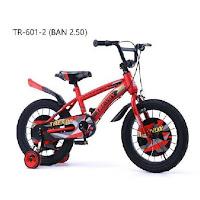 sepeda bmx anak trendy kids bike