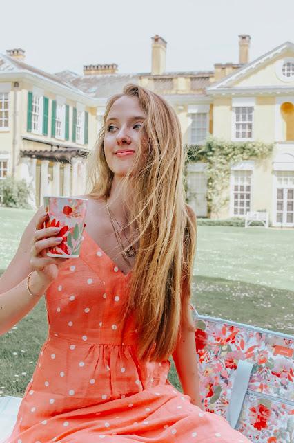 Joules Zoey Polka Dot Print Strappy Dress