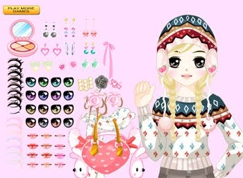Game Flazz Barbie Dress Up And Make Up Game