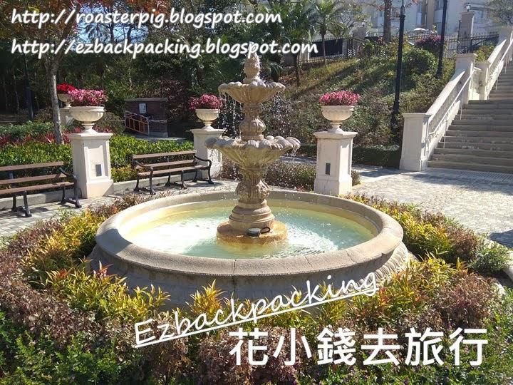 柯士甸山遊樂場:山頂英式庭園