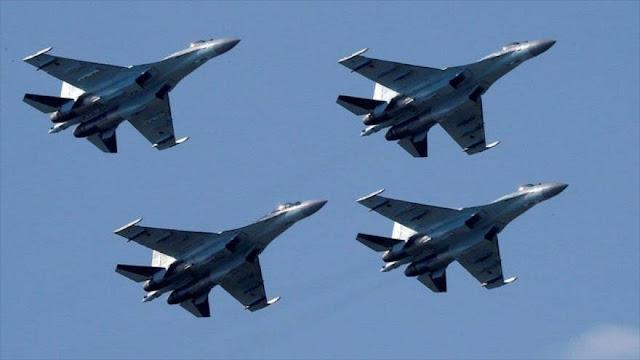 Informe: Cazas rusos vuelven a expulsar aviones israelíes de Siria