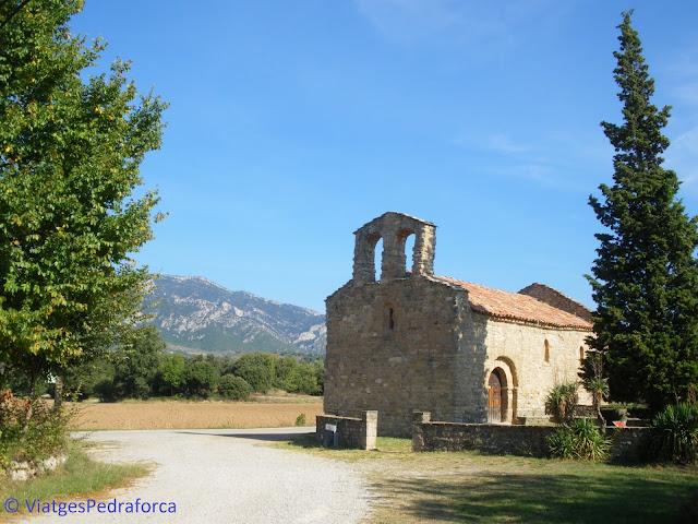 Ruta del romànic, Berguedà, senderisme, rutes a peu per Catalunya