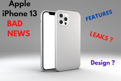 Apple iPhone 13 Bad News