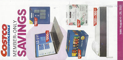 August 2021 Costco Coupon Book