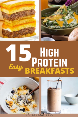 15 Healthy High Protein Low Carb Breakfast Recipes [Keto Friendly]