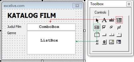 ComboBox dan ListBox
