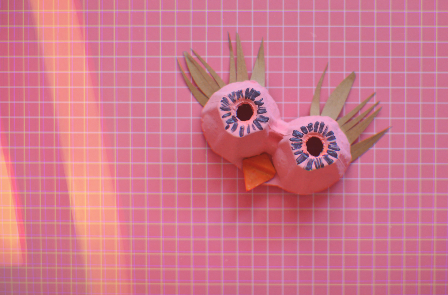 DIY: maski z pudełka po jajkach