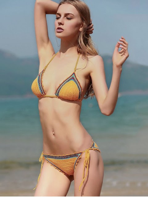 Crochet Swimsuit And Other Swimwear