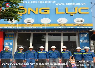 Cộng Lực - Công ty máy bộ đàm chính hãng tại Hải Phòng.