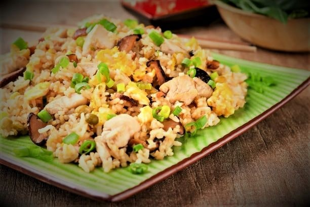Classic Thai Chicken Fried Rice Recipe