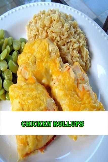 #Chicken #Rollups