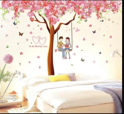 Inspirasi Desain Kamar Tidur  Dengan Nuansa Pepohonan Yang Adem Dan Asri 11