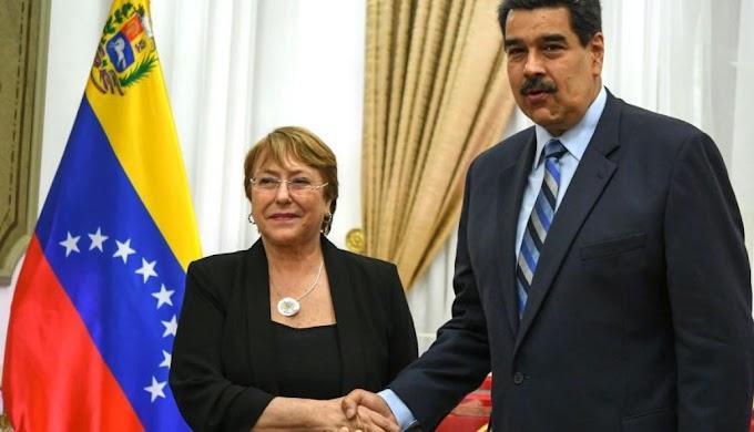 Michelle Bachelet y su visita a Venezuela