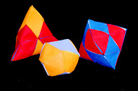 Deltahedra with diamonds