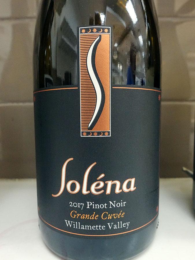 Soléna Grand Cuvée Pinot Noir 2017 (90 pts)