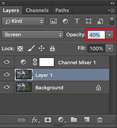cara membuat efek inframerah dengan photoshop
