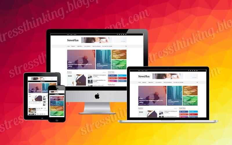 Newsplus Premium Responsive Blogger Template