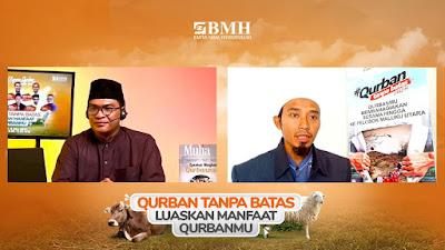 Publik Ekspos BMH Tampilkan Heroisme Dai Pedalaman Menyalurkan Hewan Qurban