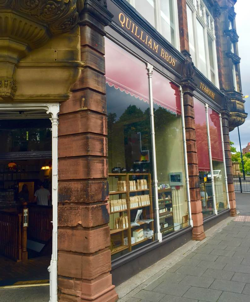 Quilliam Brothers Teahouse   Newcastle - Lunch Menu Review