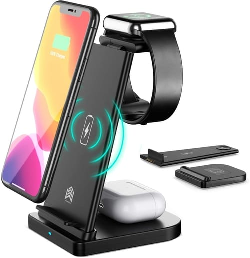 Show wish 3 in 1 Fast Wireless Charging Station