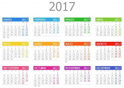 calendario simples e completo