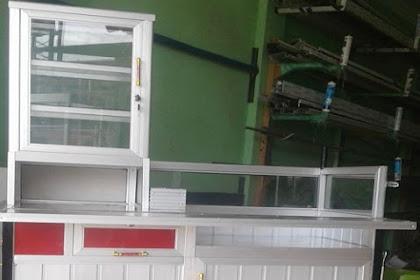 Gerobak Cilok Alumunium pesanan Bpk Abdul Rosyid di Cakung Jakarta Timur