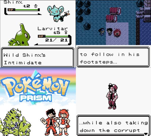 Pokemon Prism Rom Screenshots