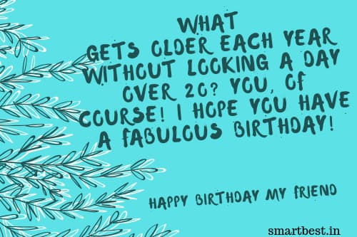 Funny Birthday Quotes Images For Friends.