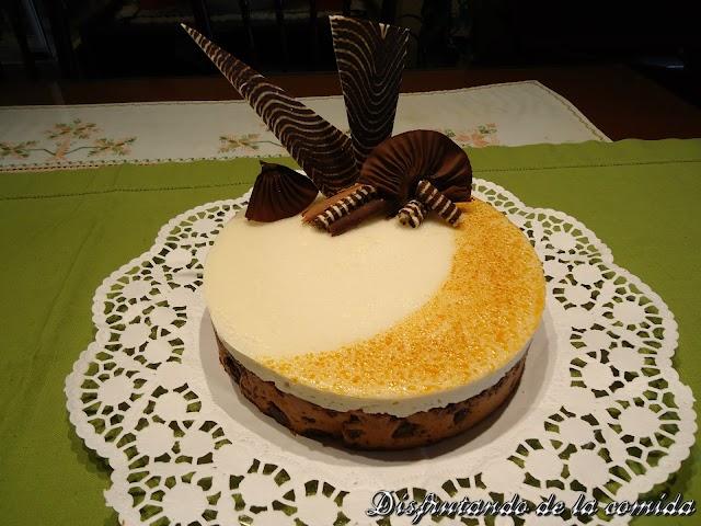 Tarta de Peras, Chocolate y Caramelo