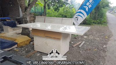 Meja Marmer Tulungagung, Jual Meja Makan Kotak Marmer, Kerajinan Marmer Tulungagung