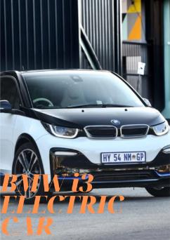 bmw i3 electric car price
