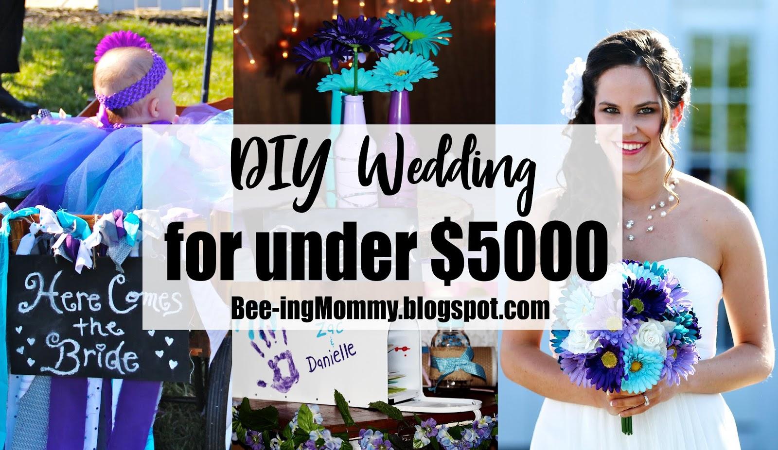 DIY Rustic Wedding for under $5000