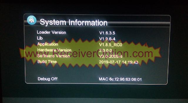 GX6605S 5815 V4.1 TYPE HD RECEIVER TEN SPORTS OK SOFTWARE NEW UPDATE