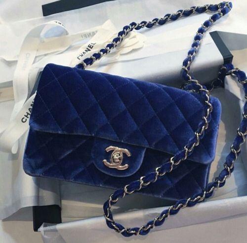 3d6c64aa9860 Look for Less: Velvet Chanel Bag - Always, Erin