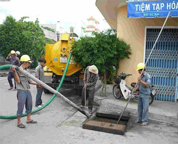 Dịch vụ thông hút bể phốt tại Nam Định chất lượng