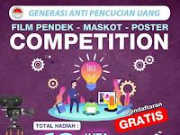 Lomba Film Pendek, Maskot, dan Desain Poster Nasional 2019, Gratis