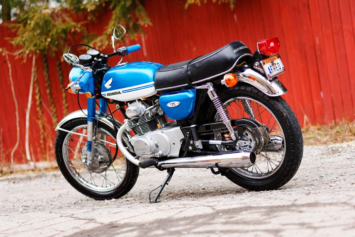 Honda CB175 Twin Sejarah