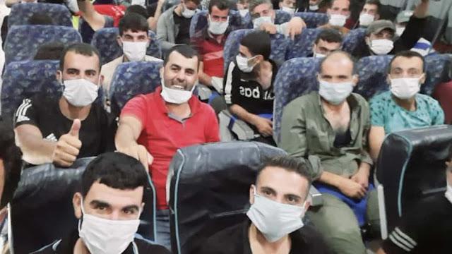 Χιλιάδες μισθοφόροι του Ερντογάν έφτασαν στη Συρία