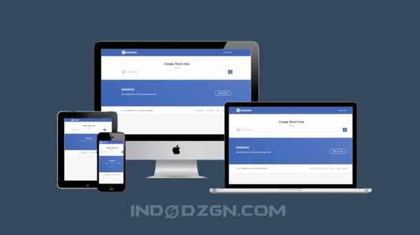 Safelinku Responsive Blogger Template