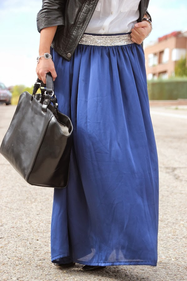 DIY Costura Maxi Falda. Blog de costura y diy.