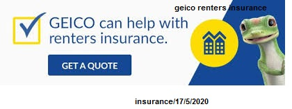 geico renters insurance