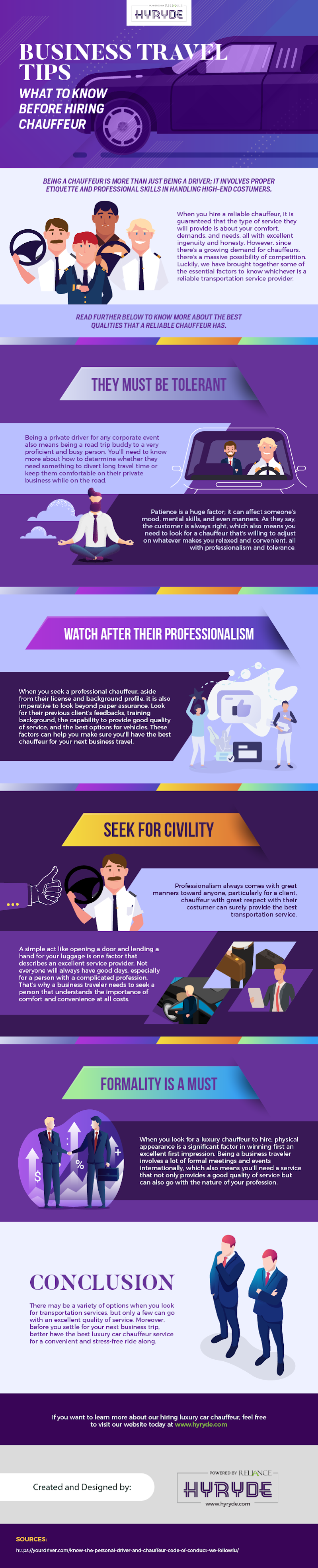 Business Travel Trips: What to Know Before Hiring Chauffeur #infographic