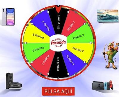 Facundo sortea iPhone 11 Pro, Nintendo Switch y otros premios