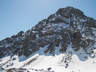 Cara norte de Peña Prieta