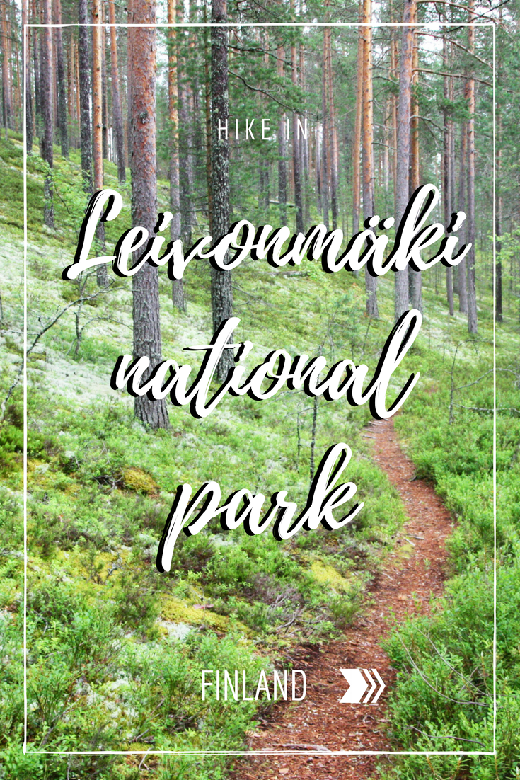 Everything you need to know about hiking Leivonmäki National Park in Finland.