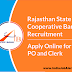 Rajasthan Cooperative Bank Various Post Online Form 2019