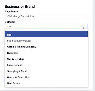 صفحة تجارية على الفيس بوك